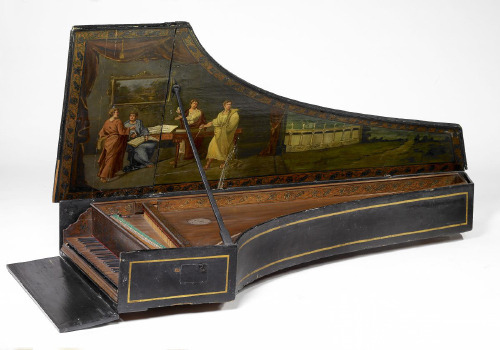 Harpsichord by Domenico da Pesaro [Venice, 1553]