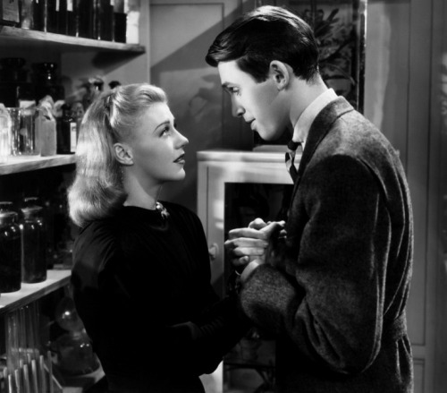"Jimmy and Ginger Rogers in ""Vivacious Lady"" (1938)"