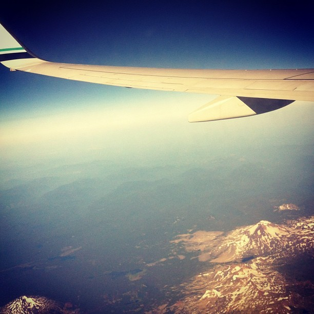 ✈ Seattle bound  (Taken with Instagram)