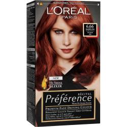L'oreal recital preference in Babylon 6.66 Most satanic hair dye ever.