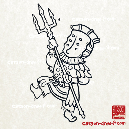 carson-drew-it:  Dark Souls Doodles!Channeler— I'll be doing these in colour as well, But here they are in Black and white first! I'm also taking suggestions, so if there's someone you want me to draw, let me know!