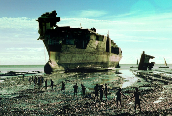 asakiyume:  Real-life ship breakers