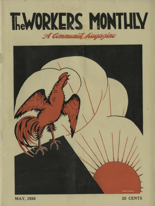 "The Workers Monthly, ""A Communist Magazine,"" May 1926 Source: Marxists Internet Archive"