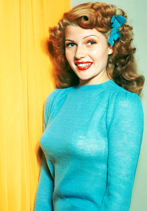 orsons:  Rita Hayworth, ca. 1945