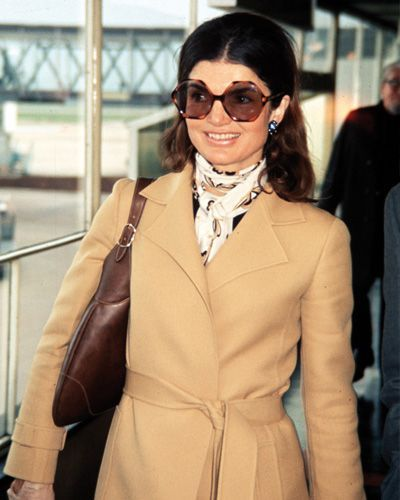 Fashion Icon - Former First Lady and style icon Jackie Onassis.