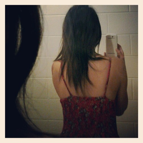 When did my hair get so fucking long?? (Taken with Instagram)