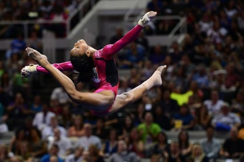 megroth:  Gabby Douglas. Ridiculous.