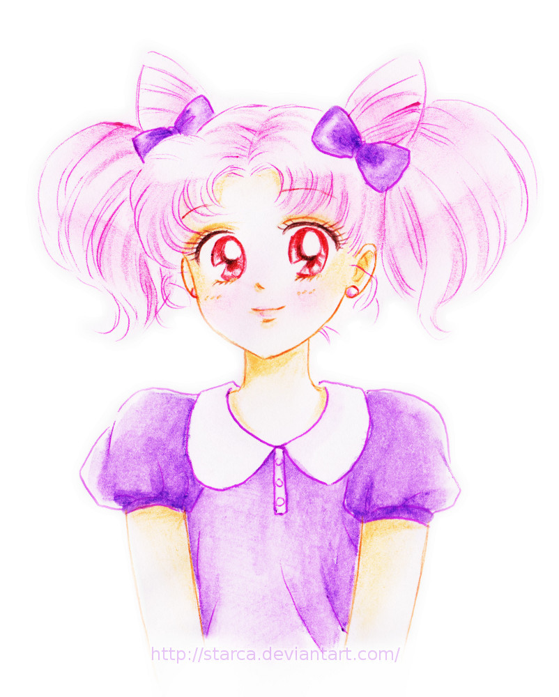 sailorsomething:  Chibiusa pink by *starca