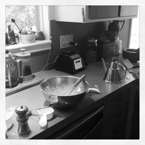 Kids making crepes. #kitchen #cooking #kids #brunch (Taken with Instagram at The Urban Ranch)