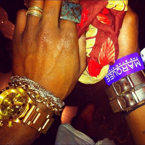 #Marquee #VIP #Nixon #leather #rings #Gold  (Taken with Instagram)