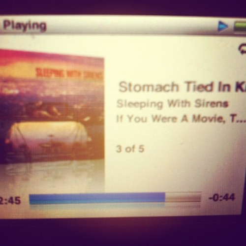 So much to be said in this song #stomachtiedinknots #sws (Taken with Instagram)