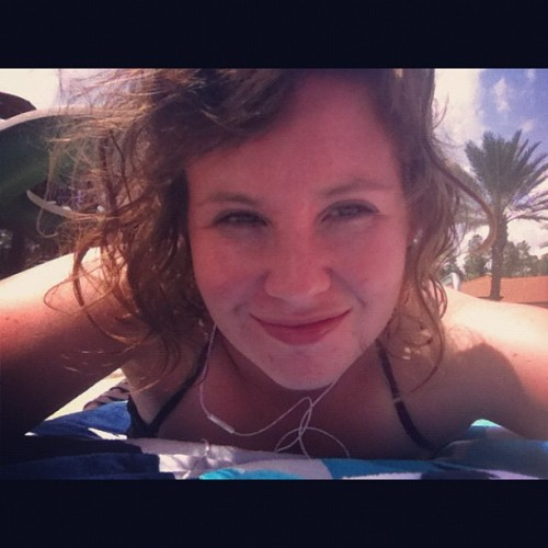 Sunbathing selfie ☀☀☀☀ (Taken with Instagram)
