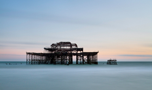 West Pier by Trevor Cotton on Flickr.