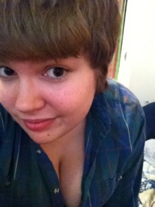 So yeah. I got a hair cut today. I think I'm cute.