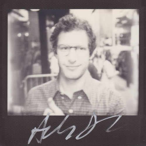 "portroids:  Andy Samberg - Because his movie ""Celeste and Jesse Forever"" is expanded into more theaters this weekend. Go see it!!"