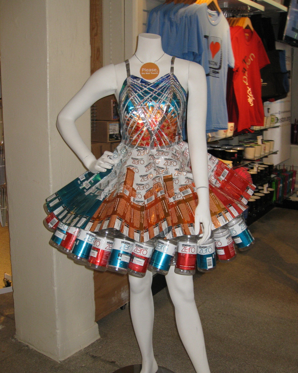Great dress at the Artist for Humanity store at Faneuil Hall in Boston.