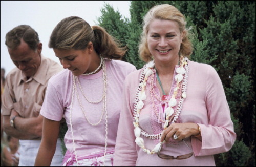 graceandfamily:  Princess Grace and Princess Caroline in New Jersey, United States, with Grace's brother-in-law Donald LeVine in 1978.  dosesofgrace: That's the Grace that first comes to mind to me when anyone talks about her!