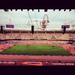 #London2012Olympics #OlympicStadium (Taken with Instagram)