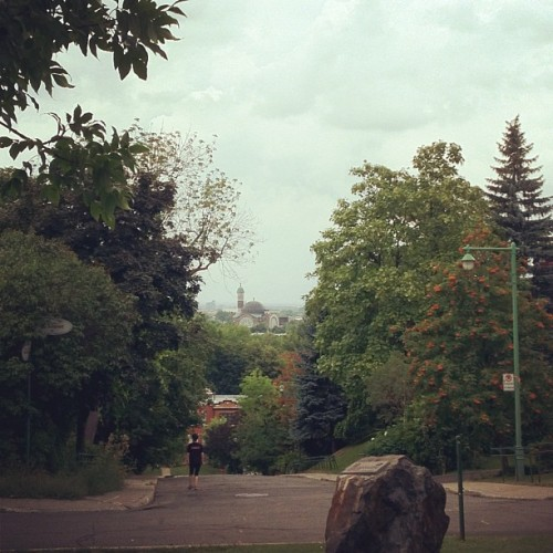 Most magnificent view of the Mile End from Outremont (Taken with Instagram at Outremont)