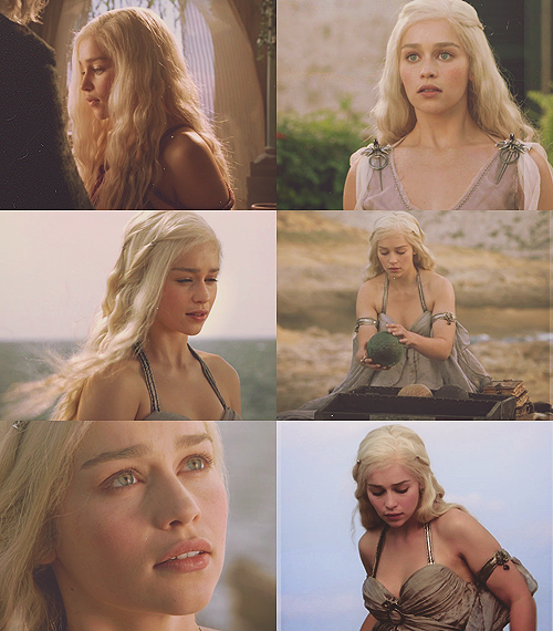 deaenerys:  Daenerys Targaryen → Winter Is Coming (1x1)