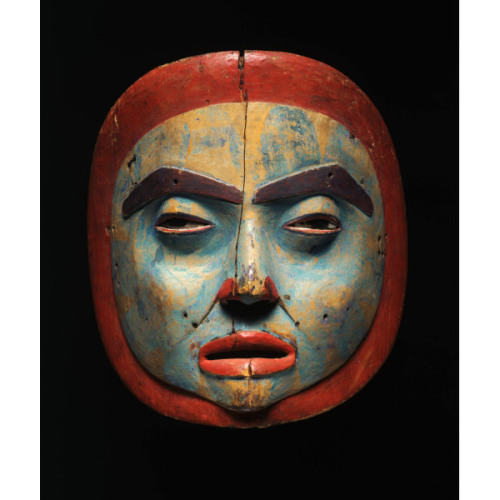 centuriespast:  Female moon maskca. 1830–50Tlingit , possibly Sitka Alaska Princeton University Art Museum