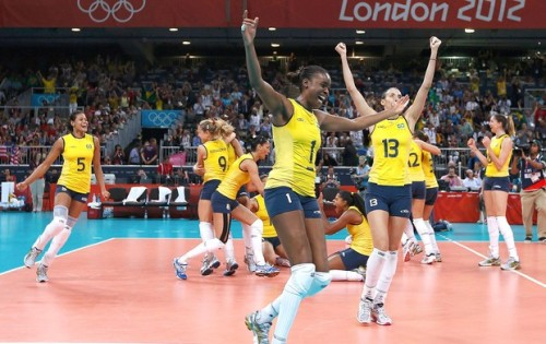 brazilwonders:  Congratulations girls of volleyball!!!