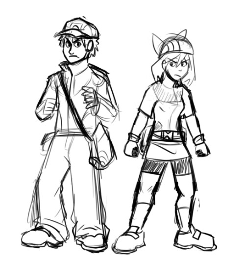God, i don't remember when was the last time i drew Nuzlocke Kaji and May. I REALLY need to get back to drawing that comic.