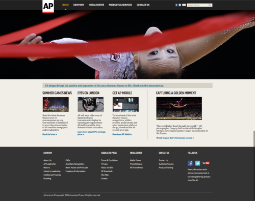 Pleasantly surprised that AP has a nice looking website.
