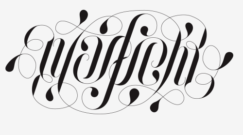 "goodtypography:  An ambigram of my last name ""Warfield"" designed as a tattoo for my sister.  Submitted by warfield"