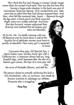 Words by Tina fey