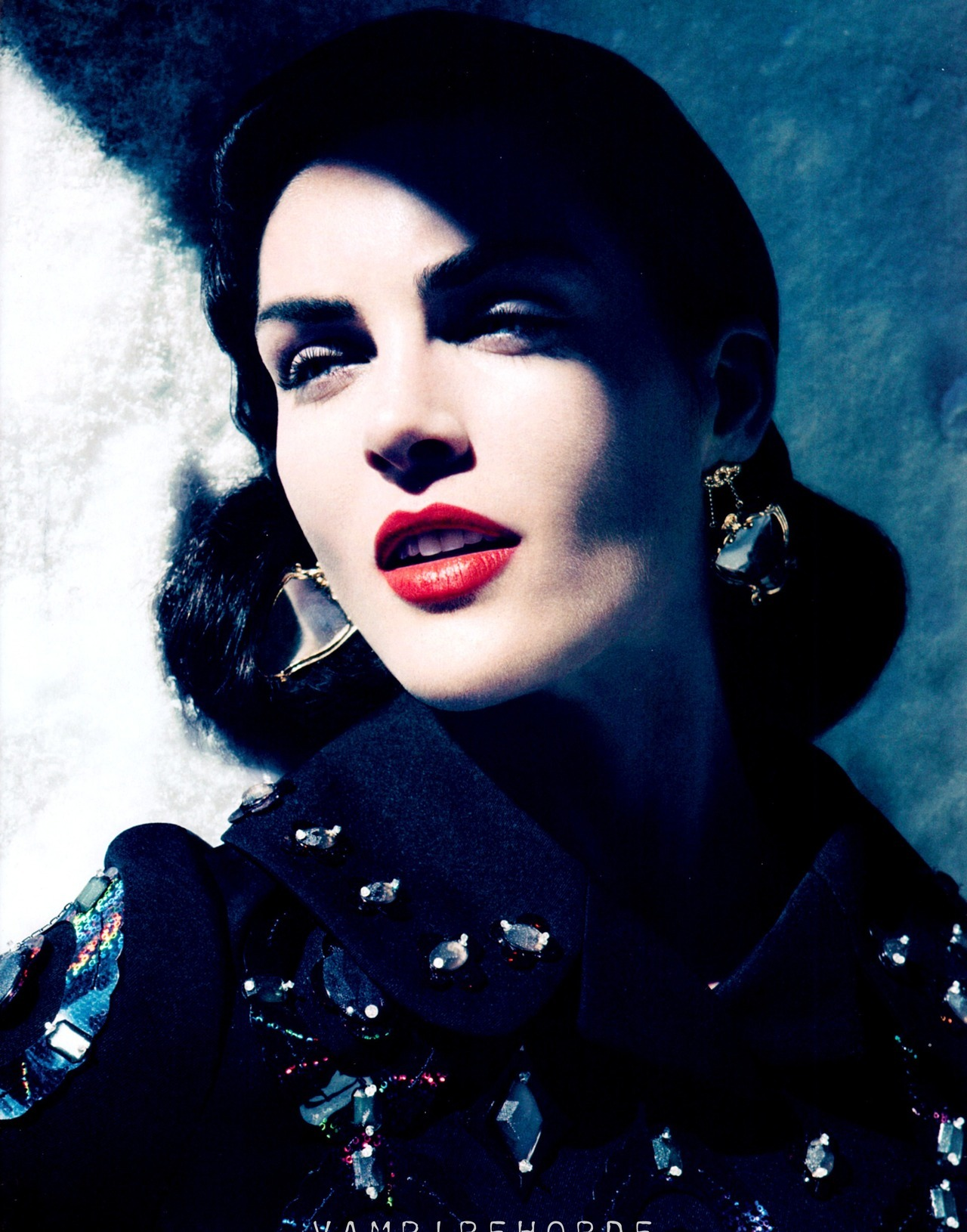 HARPER'S BAZAAR US SEPTEMBER 2012Hilary Rhoda by Camilla Akrans
