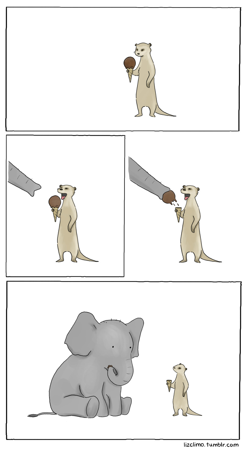 lizclimo:  friends share.