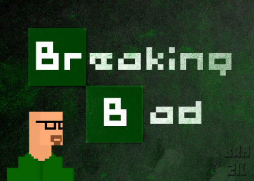 breakingbadamc:  Breaking Bad: Eight Bit Edition  Breaking Bad: 8 BIT version LOL