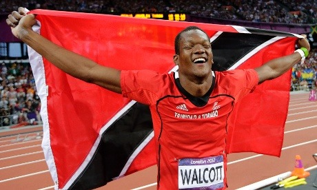 Keshorn Walcott has just won Trinidad & Tobago's first ever men's field gold medal at an Olympics. He threw a personal best in the men's javelinof 84.58m to win gold.
