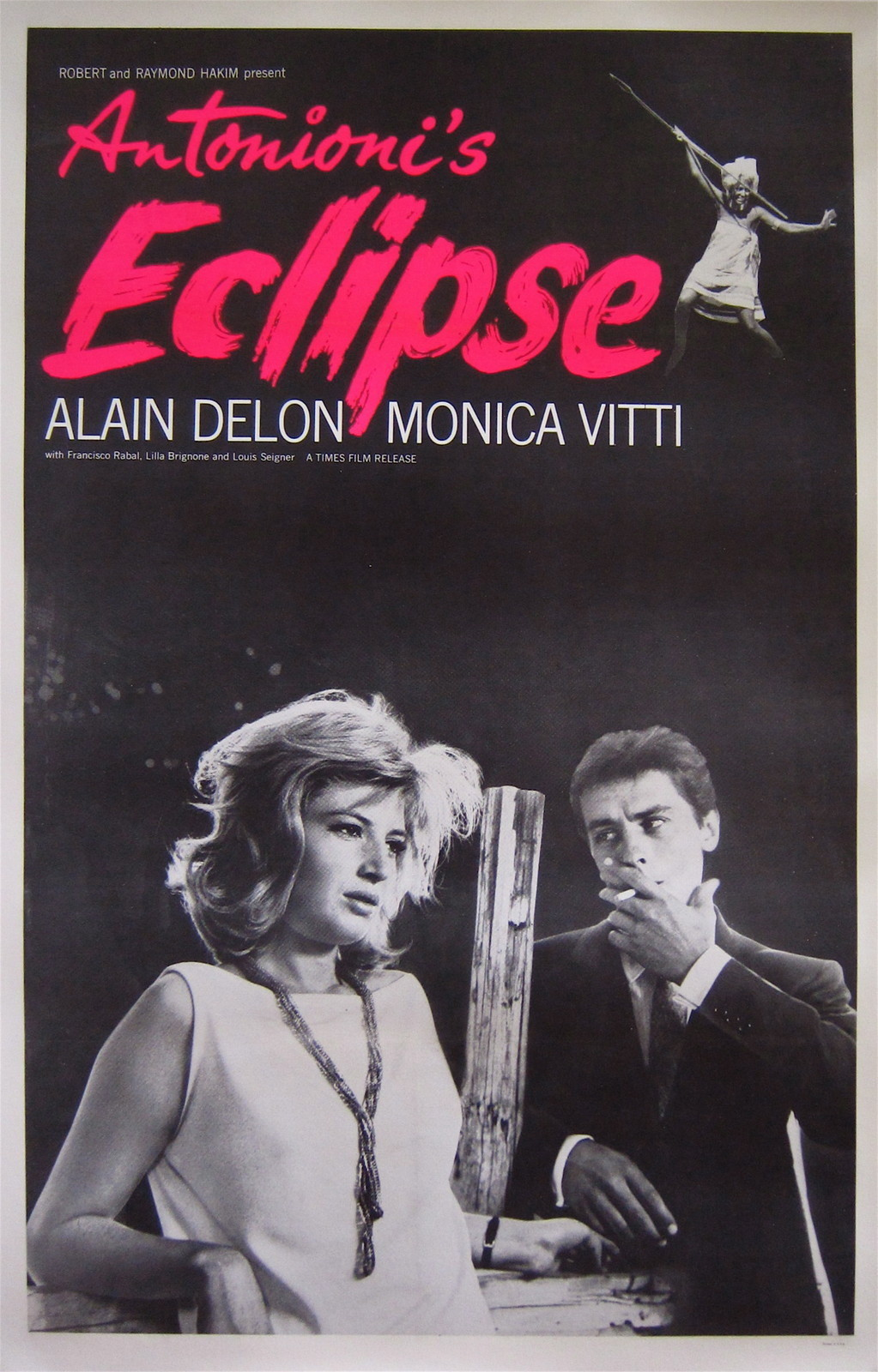 the60livehere:  Poster, L'Eclisse, 1962