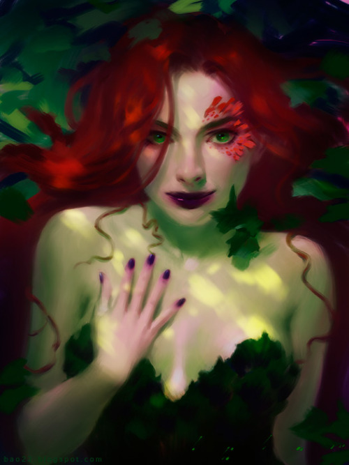 art-and-shenanigans:  Ivy by `thienbao Favorite depiction of her