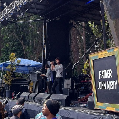 Father John Misty #outsidelands  (Taken with Instagram)