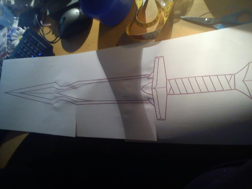 blueprint for the wanderers sword