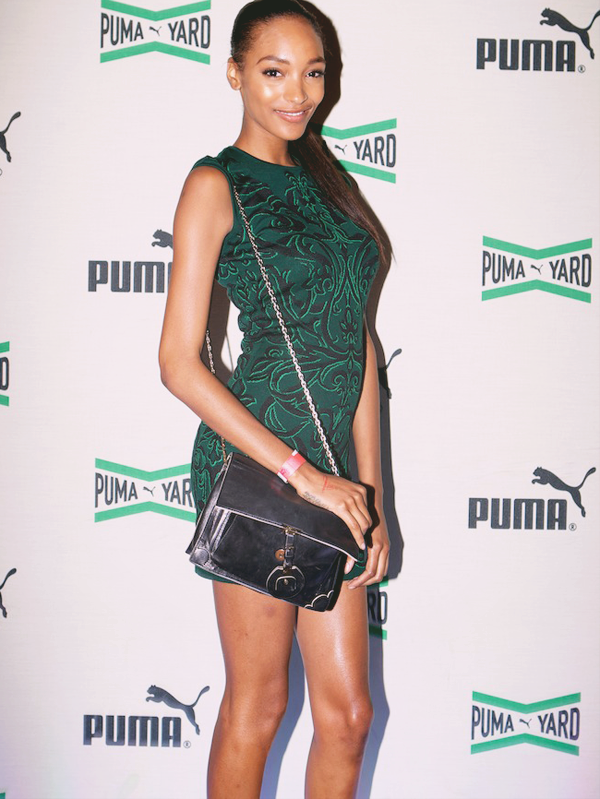 fuckyeahfamousblackgirls:  Jourdan Dunn at PUMA's Olympic pop up venture
