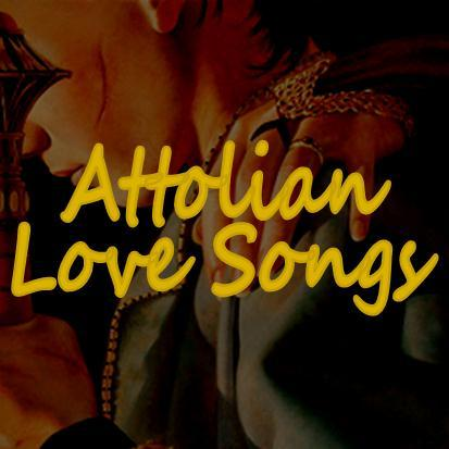 "ATTOLIAN LOVE SONGS (zip) Shadow Princess, Stone Queen: Horse and I (Bat for Lashes) ""There is no turning back."" Thief out of Eddis: Keep the Car Running (Arcade Fire)""There's a weight that's pressing down. Late at night, you can hear the sound."" Looking at Her, Eugenides Smiled: Arrow (Tegan and Sara)""I take my aim so you feel me coming close.""  Useless One-Handed Thief: Little Lion Man (Mumford and Sons)""You're not as brave as you were at the start."" The Broken Amphora: Numb (Marina and the Diamonds)""Oh, but it's a reasonable sacrifice. Burn, burn, burn bright."" Returning to Attolia: Bring Me My Queen (Abigail Washburn)""It's time, time, time, time, time."" Eugenides with Three Knives: This Tornado Loves You (Neko Case)""What will make you believe me?"" Earrings: Consider This (Anna Nalick)""But don't bother wasting your time if you're trying to change me."" A Boy She Would Love: Happy (Jenny Lewis)""They warn you about killers and thieves in the night."" Court Dance: Help I'm Alive (Metric)""Hard to be soft, tough to be tender."" Fool Enough: I'm Not Calling You a Liar (Florence + the Machine)""Just don't lie to me."" The Queen in her Castle: Riddle (Dan Haas)""The moat may be deep, but I still want to swim across."" It Is Not So Sore: Lust (Tori Amos)""So she prays for a prankster and lust in her marriage bed, and he waits till she can give."" And She Believed Him: And So It Goes (Billy Joel)""So I will share this room with you, and you can have this heart to break."" Wedding Night: Sadie (Joanna Newsom)""You and I and a love so tender… Bless this house and its heart so savage."" Lo: the Transformative Power of Love: Birds of a Feather (The Civil Wars)""But who could do without you?"" Your Ridiculous Lies: My Funny Valentine (Radka Toneff)""Yet don't change a hair for me, not if you care for me."" The Love of Kings and Queens: Eric's Song (Vienna Teng)""Strange, how we fit each other."""