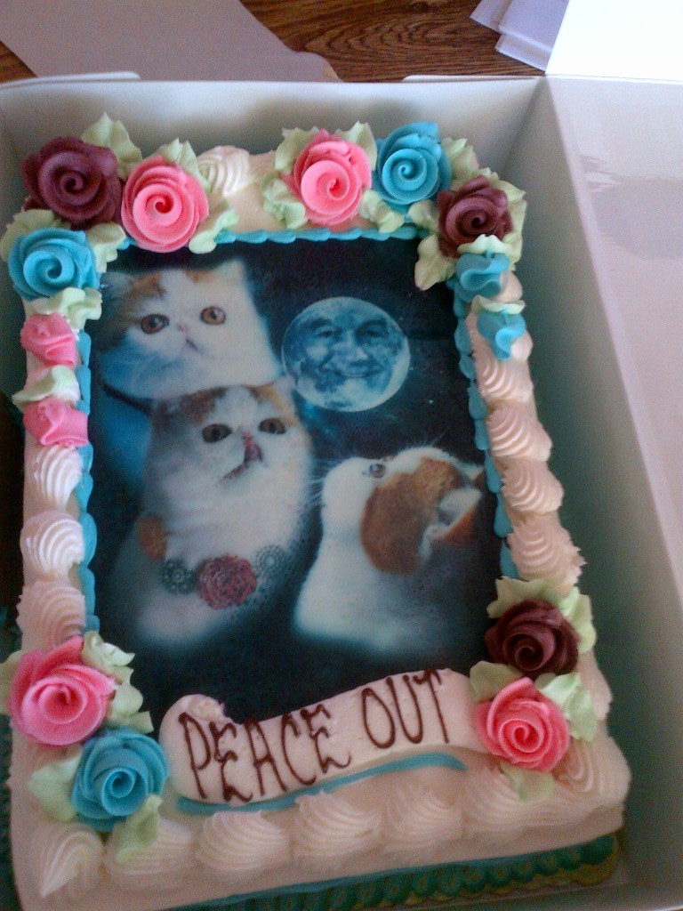 Next birthday cake.