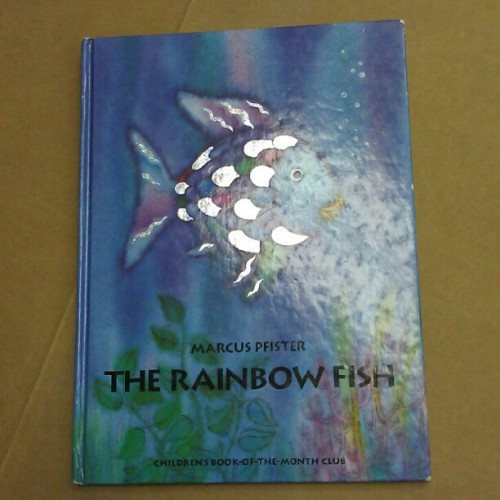 the reason why @icarlosg powers the library over $100 #rainbowfish #childhood #kinderdarden (Taken with Instagram)