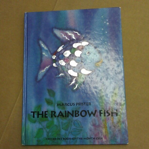 the reason why @icarlosg owes the library over #$100  #rainbowfish #childhood #kindergarden  (Taken with Instagram)