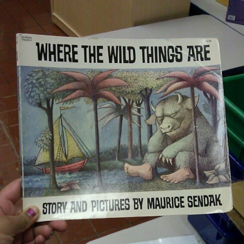 #childhood #classic #wherethewildthingsare (Taken with Instagram)