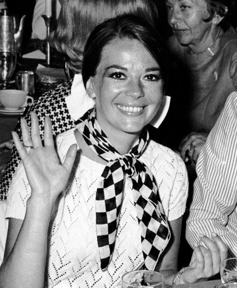 papageorgio:  BEVERLY HILLS, CA - MAY 29: Natalie Wood attends Robert F. Kennedy Presidential Campaign Benefit Luncheon on May 29, 1968 at the Beverly Hilton Hotel in Beverly Hills, California. (Photo by Ron Galella, Ltd./WireImage) 1968 Ron Galella
