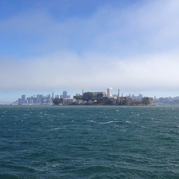 I'm on a boat 🚢 (Taken with Instagram at Alcatraz Island)