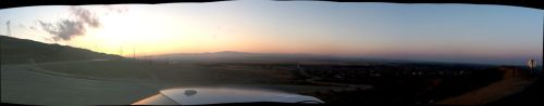 Panoramic of Lancaster, CA