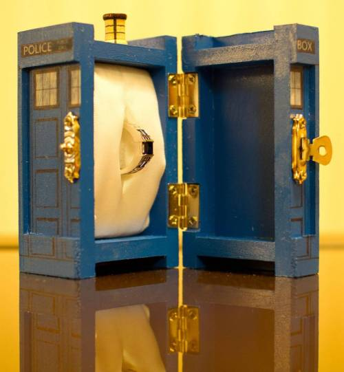 boys-from-baker-street:  doctor-who-overdose:  Have you ever seen a tardis inside a tardis?  If someone proposed to me like that, I'd marry them in two heartbeats.