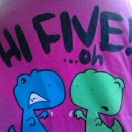 My awesome new shirt:) (Taken with Instagram)