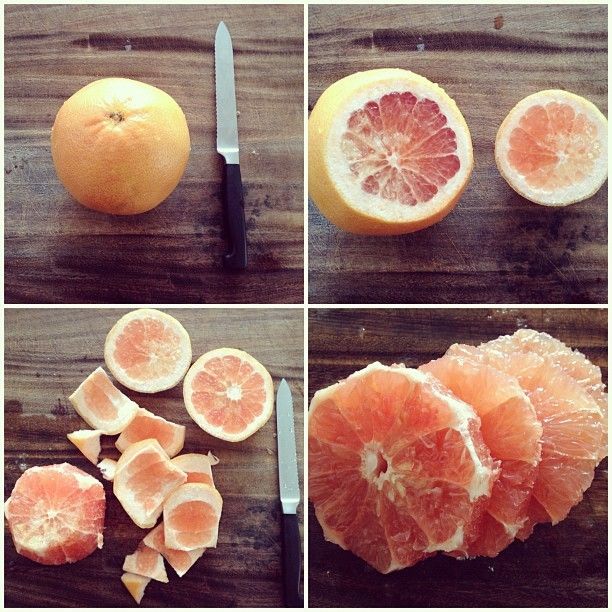 Ruby Grapefruit pre-workout #healthyliving #personal #instagram (Taken with Instagram)